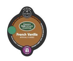 K-Carafe™ Pack 8-Count Green Mountain Coffee® French Vanilla Coffee, Single #GreenMountainCoffee