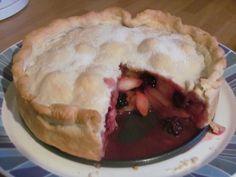 Apple and blackberry pie #Bramleyapples