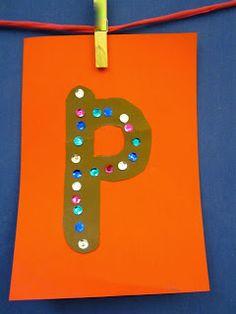 P -kirjainkuva (Open ideat: aakkosaskartelu / Anniina Hakkarainen)