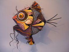 Wall art - CREATURA MARINA BARBADA - Raphael Arroyo