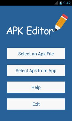 APK Editor Pro v1.8.20 [Paid] Requirements: 3.2 | ROOT | LP Overview: APK Editor is a powerful tool that can edit/hack apk files to do lots of things for fun.        It can help us to do things like string localization, background image replacement, layout re-architecting, and even ...