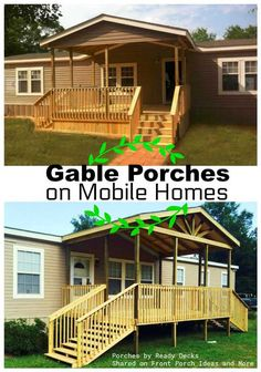 porch designs for mobile homes - Mobile Home Designs