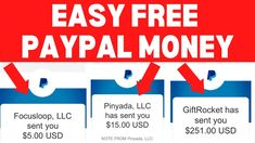 Earn $50 Everyday Easy Free PayPal Money (New Website) [Make Money Onlin... Make Money Blogging, Make Money From Home, Way To Make Money, Make Money Online, How To Make, Internet Marketing, Social Media Marketing, Surveys For Money, Money Now