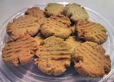 Low Carb High Fat Almond Shortbread Cookies (no eggs!)...someone said they were delicious!