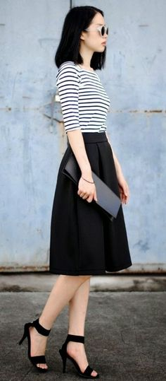 I love skirts like this.