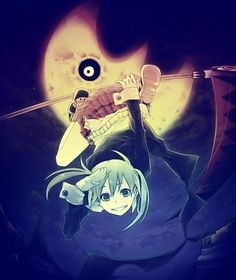 Maka from Soul Eater^^<< The moon or the sun: which do you think is creepier? My vote is for the moon!