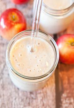 Smoothie pomme et crème