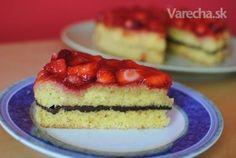 Ľahká bezlepková torta s jahodami bez mlieka (fotorecept) - Recept