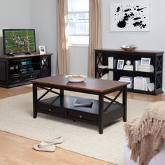 Ameriwood Home Woodcrest TV Stand for TVs up to 55 inch White