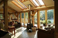 Evolution house on Ardnamurchan peninsula on West coast of Scotland by Roderick James Architects