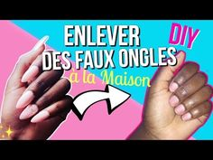 Comment enlever vos faux ongles* How to remove your artificial nails* Manucure maison - YouTube