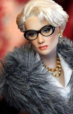 Doll: Meryl Streep in The Devil Wears Prada by Noel Cruz