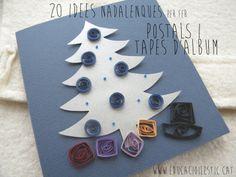 20 idees nadalenques per fer postals i tapes d'àlbum