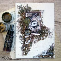 Mary's Crafty Moments: ''Journey'' - DT Layout for More Than Words Challe...