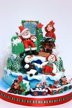 viorica's cakes: Petrecere de Craciun la firma 2012