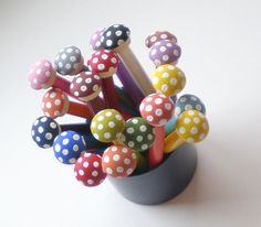 Toadstool Toppers....the name just makes me laugh :-)