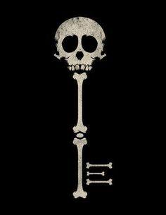 Skeleton key...hmm possible tattoo idea