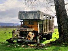Old truck, Te Araroa