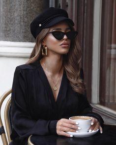Popular Fall Outfits To Inspire You - Fashion Idea Look Fashion, Fashion Outfits, Womens Fashion, Female Fashion, High Fashion, Fashion Beauty, Estilo Beatnik, Fall Fashion Trends, Autumn Fashion