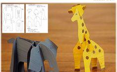 Cereal Box Safari Animals | upper sturt general store