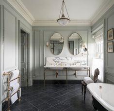 DIY bathroom decor and ideas on a budget. Ideas for organization, storage, decorating, and renovations. Spa Like Bathroom, Modern Bathroom, Small Bathroom, Bathroom Ideas, Boho Bathroom, Bathroom Organization, Restroom Ideas, Minimal Bathroom, Bathroom Goals