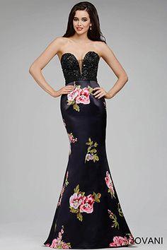 Floral Mermaid Dress 36134