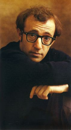 Woody Allen - like the photo. Don't know who took it though. Anybody knows?