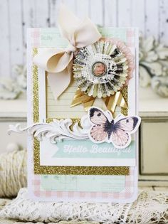 Melissa Phillips: Lilybean Paperie - Choose Happiness... - 8/26/14 (Hopscotch Collage Pattern Paper by Fancy Pants. Close Knit Seamstress Pattern Paper by Crate Paper. Telegraph Road Memo Pattern Paper by Kaisercraft. Dreamy Glitter Frames by Heidi Swapp Dream Big Collectables Die-Cuts by Kaisercraft. Maggie Holmes Styleboard Decorative Washi Tape by Crate Paper. Baby Girl Decorative Brads by Echo Park. Sizzix Sizzlits Decorative Strip Die)