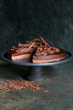 Chocolate pie #chocolate #pie #delicious #mmm #desert #chocolates