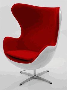 jacobsen style egg chair fiber glass shell arne jacobsen style alpha shell egg