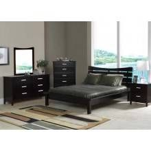 Contemporary Bed Set ( Queen Size ) - $425   Contact Jay Kemp for additional information and questions regarding warranty.  Like us on Facebook for specials that we have going on and for additional information on products check us out at http://www.knoxfamilyfurniture.net