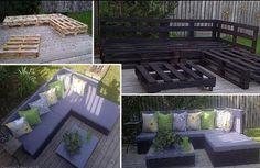 Gartenmöbel Paletten 3