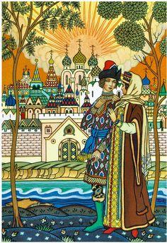 сказки пушкина палех - Google Search