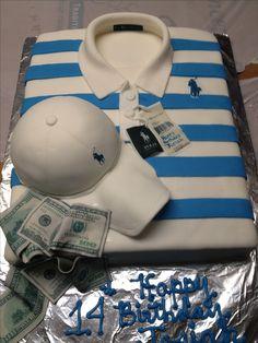 Ralph Lauren Shirt Themed Birthday Cake Polo Pinterest - Birthday cake shirt