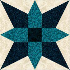 Sea Crest (free pattern) from Jinny Beyer Studio
