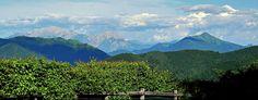 Lanzo d'Intelvi, panorama sulle Grigne San Primo e i Corni di Canzo - Luglio 2013
