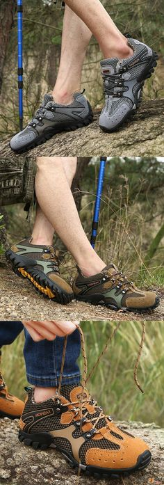 US$47.99 + Free shipping. US Size 6.5-11 Outdoor Shoes, Outdoor Sneakers, Hiking Shoes, Climbing Shoes, Athletic Shoes. Color: Coffee, Yellow, Grey, Khaki. Soft, Comfortable & Breathable, Best Sneakers Ever.
