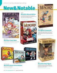 #SteveJackson #Munchkin New & Notable Products #LicensingExpo #RetailMerchandiser