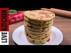 Έύκολες Πίτες Χωρίς Φούρνο(Λαχταριστές Πιτούλες-The Easiest Recipe for flat bread Tasty Live Kitchen - YouTube