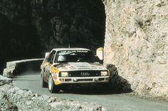 1984 Walter Röhrl Audi Quattro A2 - Rallye Monte Carlo