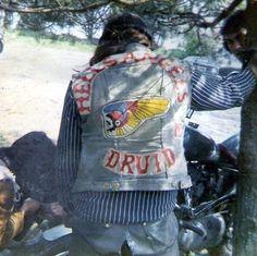 Biker Clubs, Motorcycle Clubs, Old Motorcycles, Harley Davidson Motorcycles, Custom Denim Jackets, Hells Angels, Biker Patches, Detroit, Micah Gianneli
