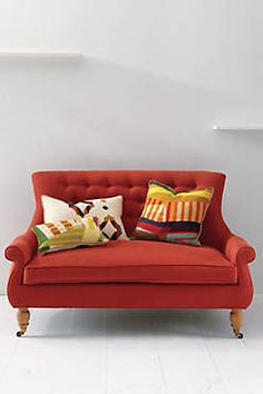 Would Love To Live In A Home Someday Where This Color Sofa Be Perfect Settees