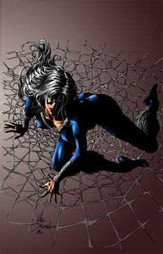 Black Cat by Mike Deodato Jr.