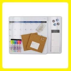 Dry Erase Calendar Board Set Value Pack Office Home Study Dorm Magnet Organizer #Quartet