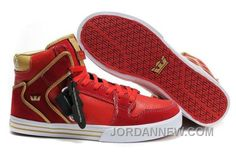 http://www.jordannew.com/supra-vaider-red-gold-white-lastest.html SUPRA VAIDER RED GOLD WHITE LASTEST Only 54.85€ , Free Shipping!