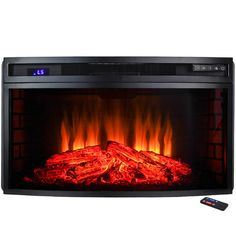 Found it at Wayfair - Insert Freestanding Electric Fireplace