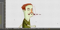 All animation was made in After Effects using a rig setup with puppet tool + expressions.
