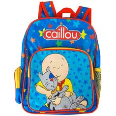 The Official PBS KIDS Shop   Caillou Large Backpack