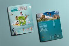 Portada y contraportada | Escapismo Natural | Provincia de Badajoz | Laruinagrafica - Estudio creativo y poliédrico