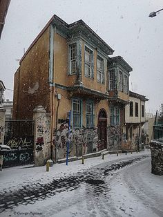 Old Greek, Greek History, Crete Greece, Thessaloniki, Macedonia, Amazing Destinations, Abandoned Places, Athens, Old Houses
